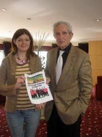 Jack Phelan with Kathleen Funchion