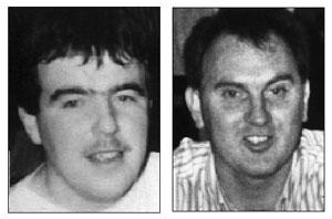 SHOOT-TO-KILL: IRA Volunteers Martin McCaughey and Dessie Grew