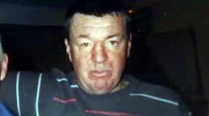 TARGET: Damien Fleming was beaten so severely by a loyalist mob of around 40, that he was not expected to survive