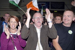 COUNCIL SEAT: Dessie has worked hard for Sinn Féin and Finglas since winning his seat in 1999