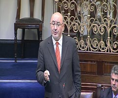 Caoimhghín Ó Caoláin: Described Pat Cox as 'outlandish and insulting'