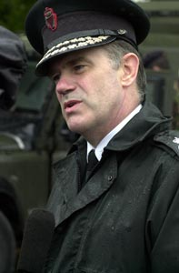 RUC Chief Ronnie Flanagan attempted to deflect responsibility for Hamill killing