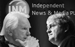 MEDIA EMPERORS: Tony O'Reilly and Denis O'Brien fight and the consumer lose