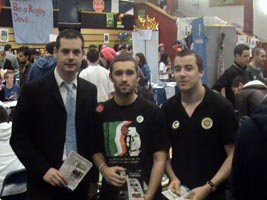 FRESHERS WEEK: Pearse Doherty, Eric Scanlon and Mark Moloney