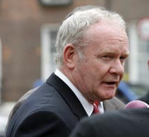 PUT RECORD STRAIGHT: Martin McGuinness