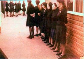 Republican women POWs in Armagh jail
