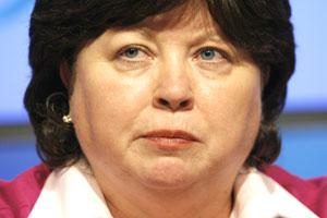 Health Minister Mary Harney