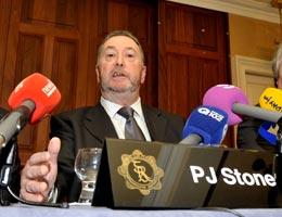 GRA General Secretary PJ Stone
