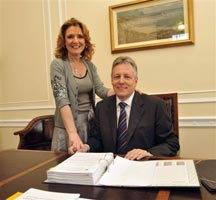 Iris and Peter Robinson were seen as unionism's golden couple