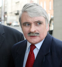 Defence Minister Willie O'Dea changed his story when the tape recording of his interview was revealed