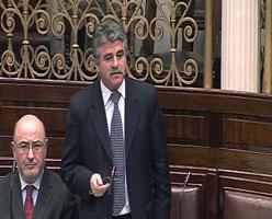 Sinn Féin's Finance spokesperson, Arthur Morgan