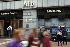 AIB – Banks can't make losses, but households can