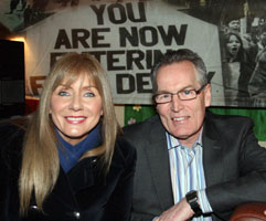 Frances Black and Gerry Kelly
