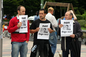 It is believed that Spanish and French security forces collaborated in the disappearance of Jon Anza