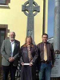 North Kerry Sinn Féin TD Martin Ferris, past local election candidate for Corca Dhuibhne Theresa Rafter Moriarty and Abbeydorney Sinn Féin activist Morgan O'Flaherty
