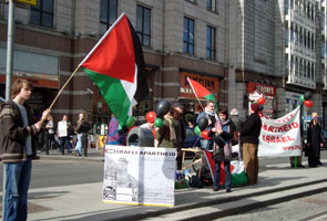 IPSC stage protest to highlight LUAS operator Veolia's complicity in Israel's apartheid regime