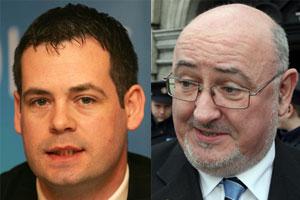 Pearse Doherty and Caoimhghín Ó Caoláin