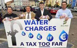 Members of Waterford Sinn Féin launch their campaign